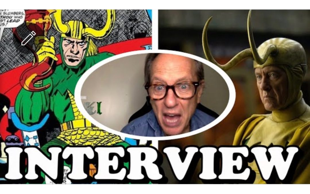 """Richard E. Grant Talks Playing Classic """"LOKI"""" and Reveals Who's the SUPERIOR LOKI in the Series"""