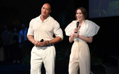 """DWAYNE JOHNSON AND EMILY BLUNT AT THE DISNEY'S """"JUNGLE CRUISE"""" WORLD PREMIERE"""