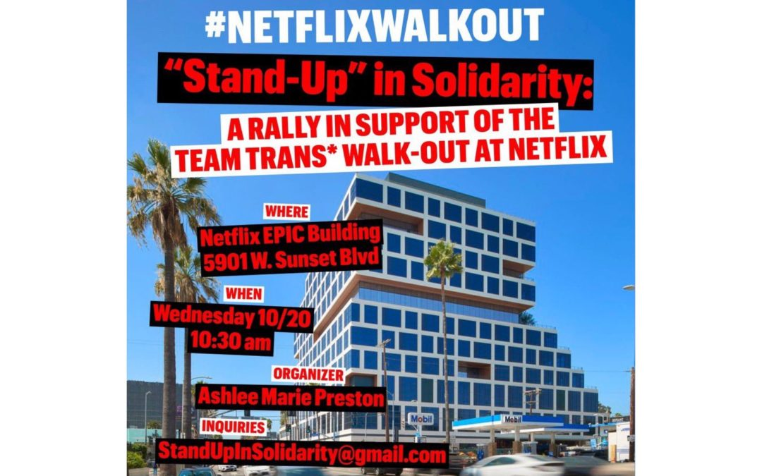 Netflix employees to stage walkout in the wake of CEO's response to controversial Dave Chappelle special