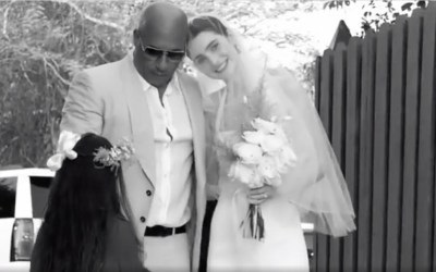 Vin Diesel Walked Meadow Walker Down The Aisle During Her Wedding Ceremony