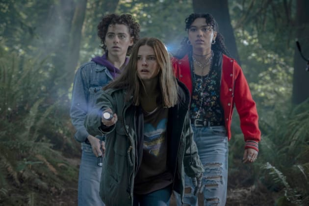 'THE GIRL IN THE WOODS' INTERVIEW: Sofia Bryant, Stefanie Scott, and Misha Osherovich Talk New Peacock Series