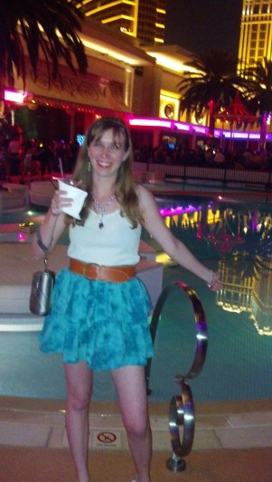 First Night in Vegas