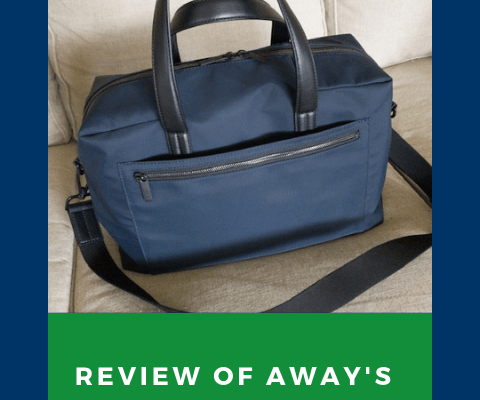 review of Away's Everywhere Bag
