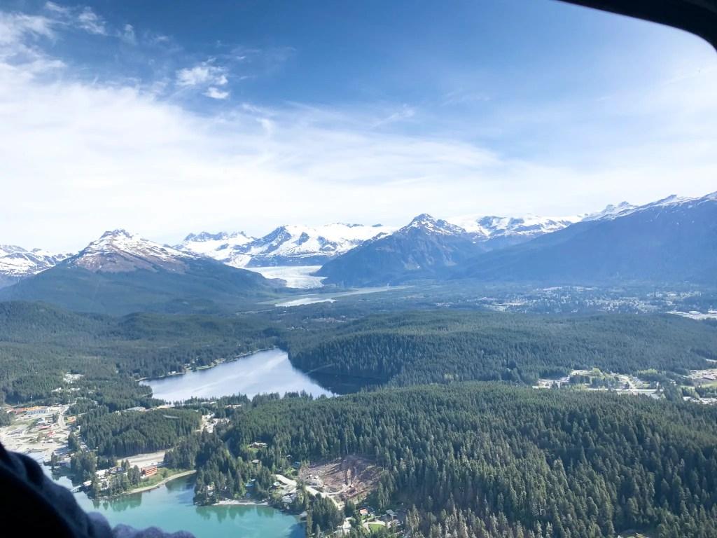 helicopter ride in Juneau, Alaska