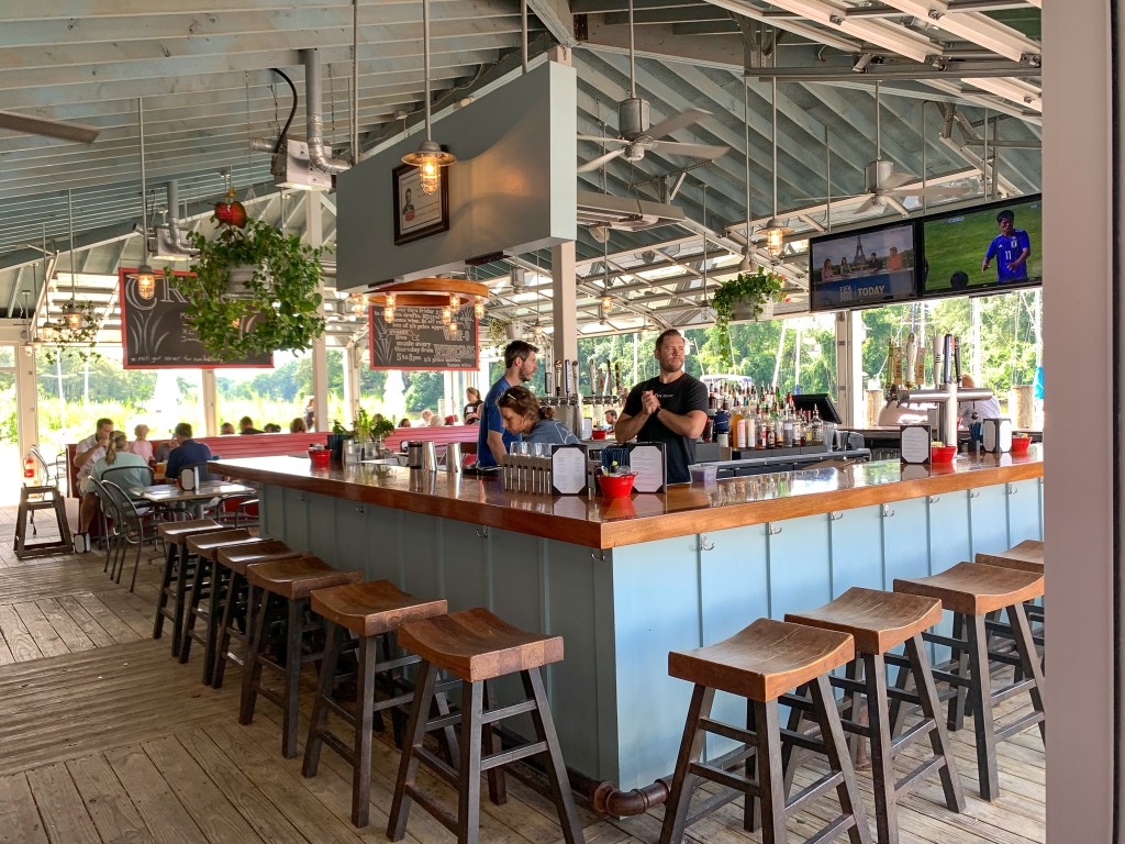 The Point Crab House Restaurant in Arnold, Maryland