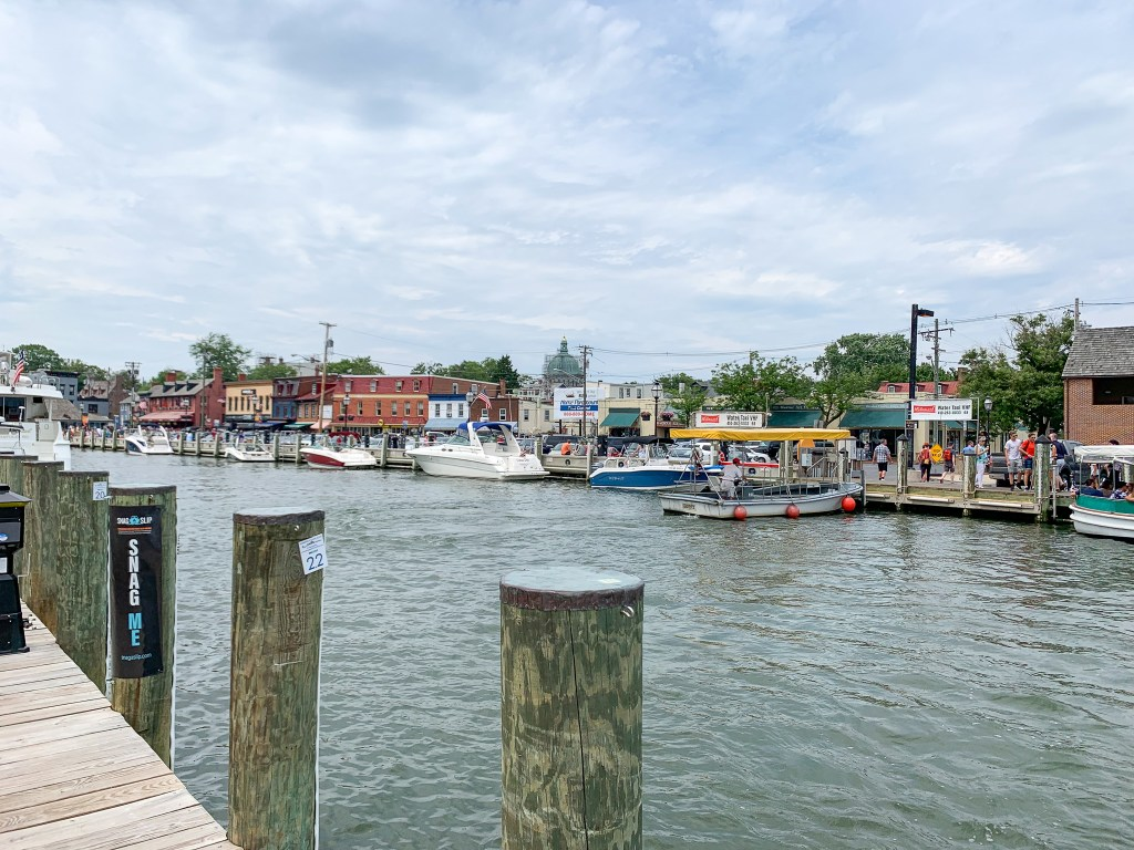 waterfront in Annapolis, Maryland