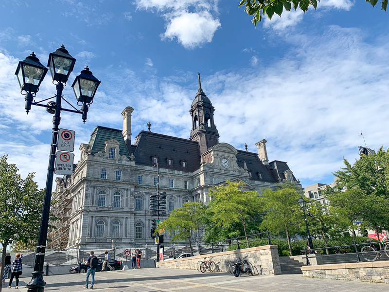 things to do in Montreal, historical building in Old Montreal