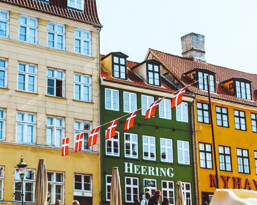 Colorful house in Copenhagen. Things to do in Copenhagen in 1 Day