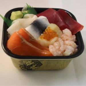 ข้าวหน้าปลาดิบ Sasafune Donmaru 4 - Wherejapan ญี่ปุ่นไปไหนดี ร้านอาหารห้ามพลาด เมนู 500 เยน เมนู 1 เหรียญ เมนู 1 Coin