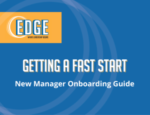 Getting a Fast Start Leader Onboarding