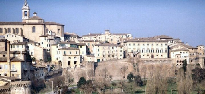 A view of Majolati Spontini