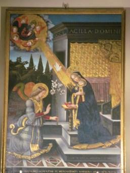 Inside the Chapel of St. Terenzio