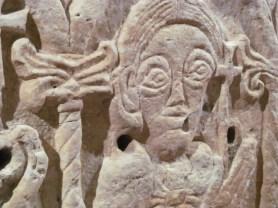 Paleochristian sarcophagus - detail - Diocesan Museum