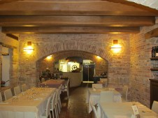 Locanda Montelippo - the restaurant