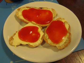 Gorgeous apricot colour (and taste)