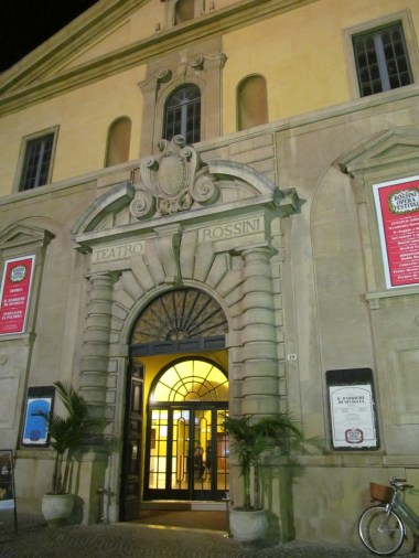 Rossini theatre
