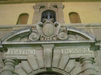 Rossini theatre - a detail