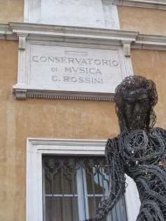 Music Conservartory entitled to G. Rossini, born in Pesaro