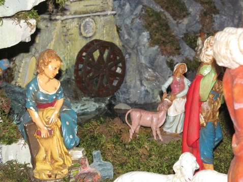 Cathedral - a detail of the nativity scene