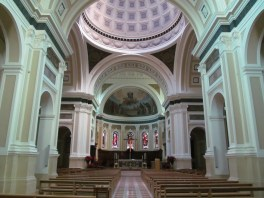 Pesaro cathedral - the insdie