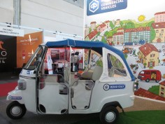 A Piaggio touristic vehicle