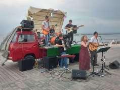 A folk music band