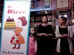 Costanza, Cristina Ortolani and Annalisa Spalazzi (from the University of Bologna)
