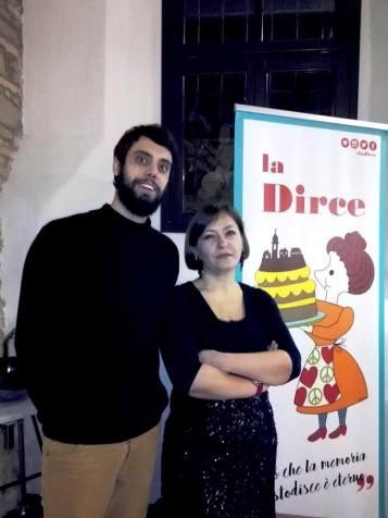 Jacopo Fiorani and Cristina Ortolani