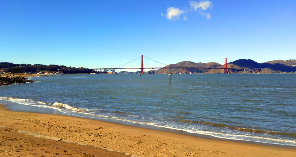 San Francisco Bay and Golden Gate Bridge. Photo: Mary Charlebois.