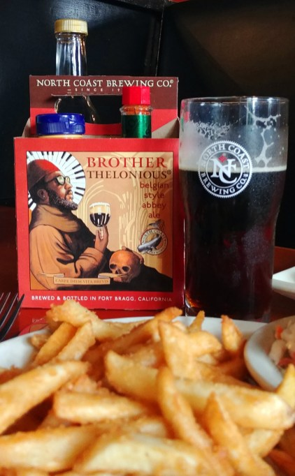 Brother Thelonious Belgian-style Abbey Ale, from North Coast Brewery, Fort Bragg California. Photo: Mary Charlebois