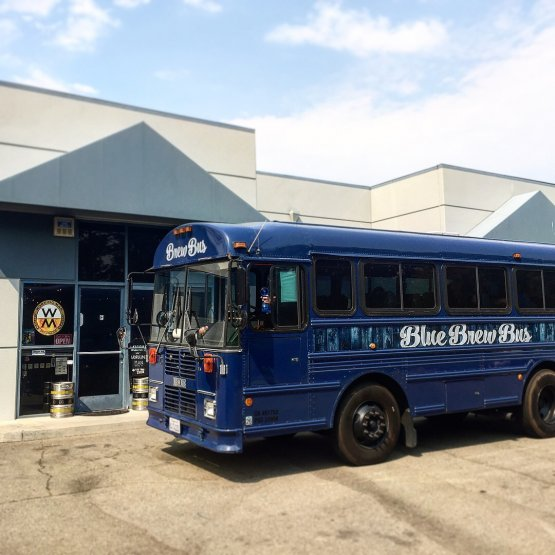 Blue Brew Bus, Tri-Valley CA