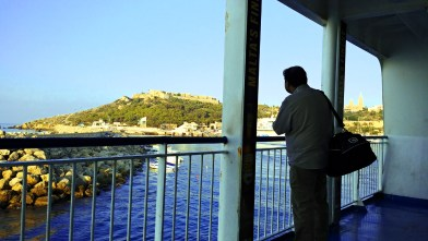 30-Days in Malta. Gozo Channel Ferry. Photo: Charlebois