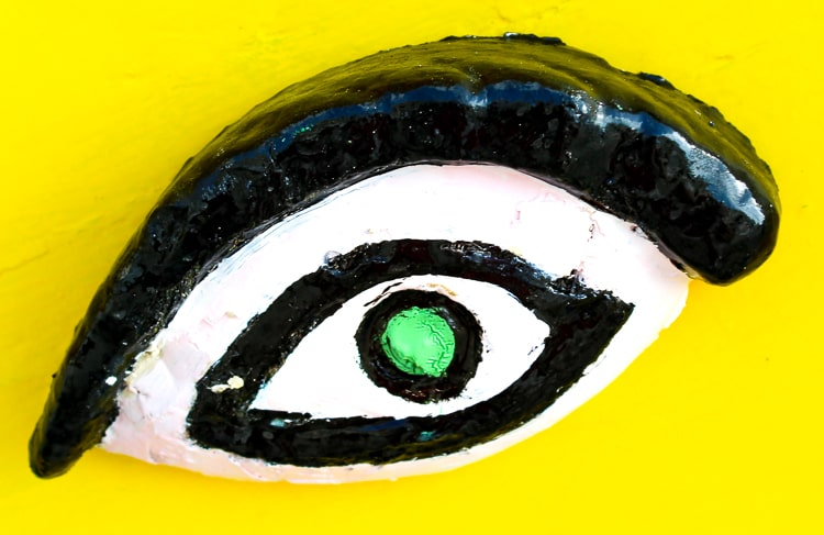 The Eye of Osiris, a traditional talisman to protect the fisherman and the fishing boats of Malta while at sea.