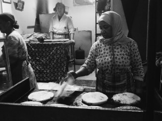 A woman makes bread in Berrechid, Morocco travel and experiences, family travel