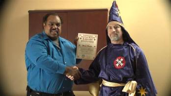 Accidental Courtesy: Daryl Davis in a new documentary: Race & America is a new documentary by director Matt Ornstein. © NBC News