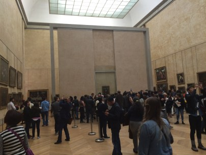 The Mona Lisa (from a safe distance)