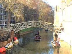 Mathematical bridge at Cambridge