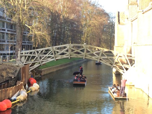 Mathematical bridge at Cambridge