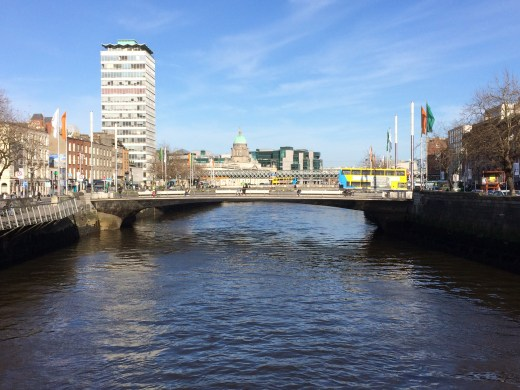 "The Liffey, aka ""Sniffy Liffey"" because it used to be really polluted"