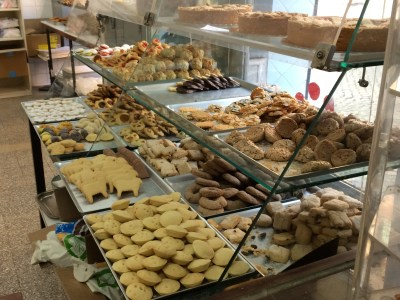All the cookies at the bakery