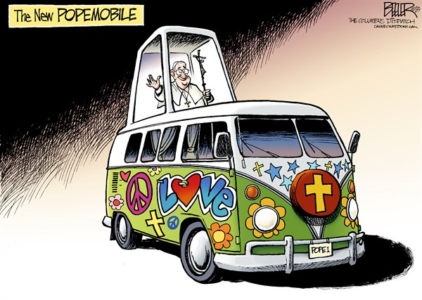 The Tall Tale of the Hippie Pope
