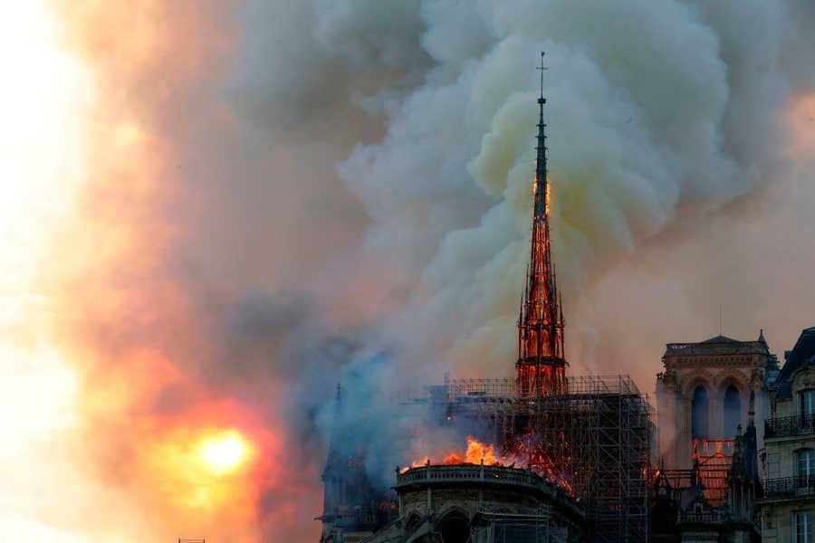 UPDATED: Notre Dame Cathedral Burns as Paris Watches in Disbelief