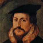 How the pope's critics sound like Calvin