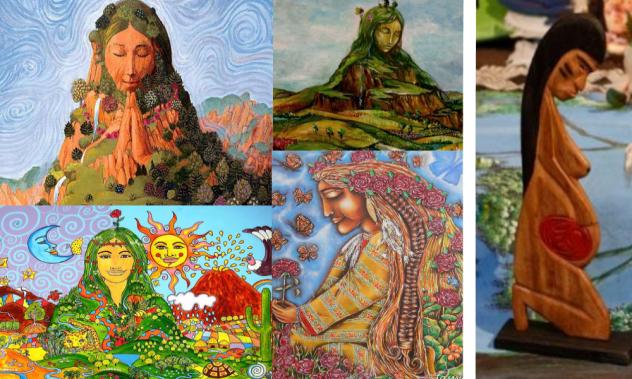 Pachamama collage