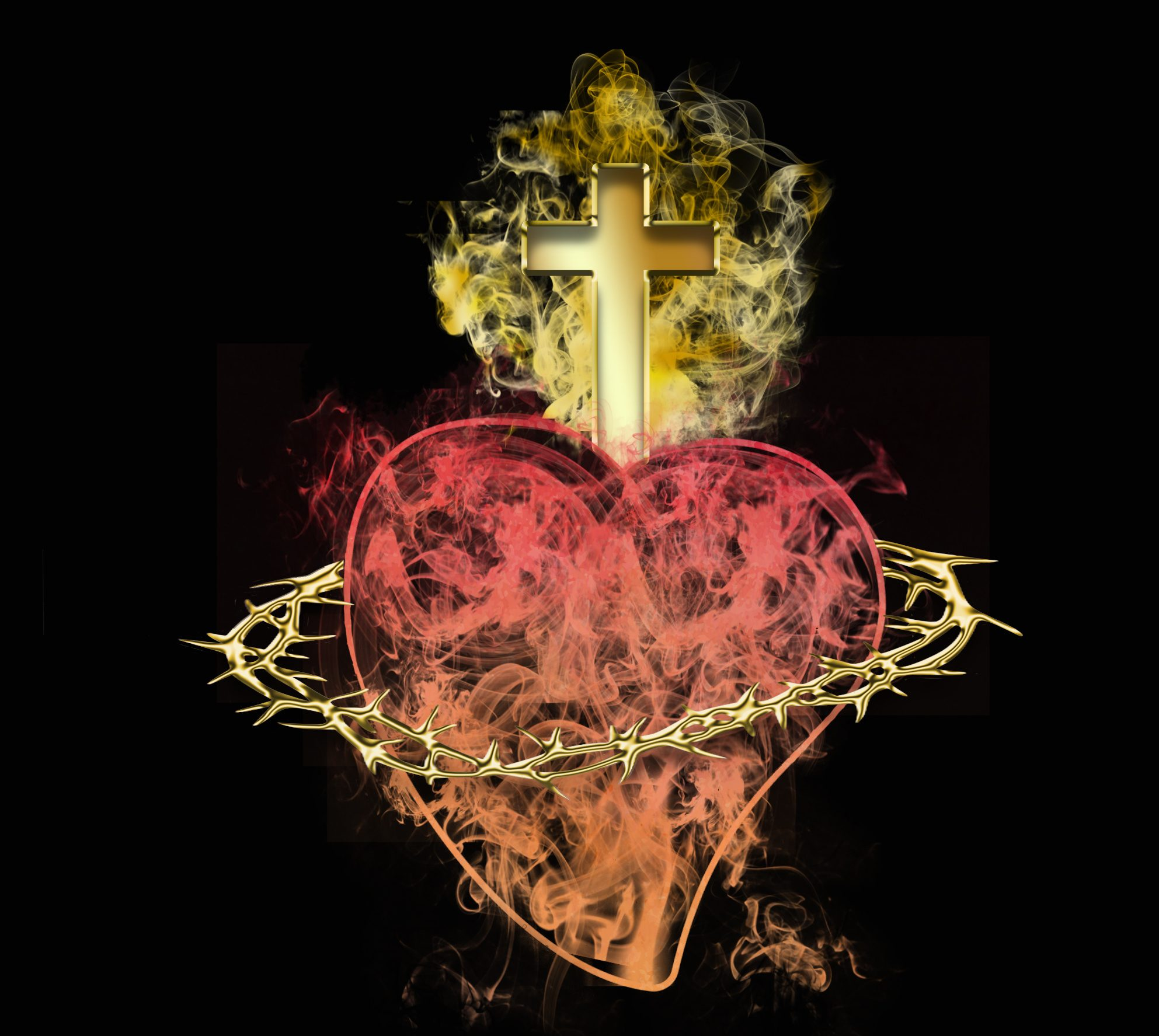 The Sacred Heart and Prayers for Priests