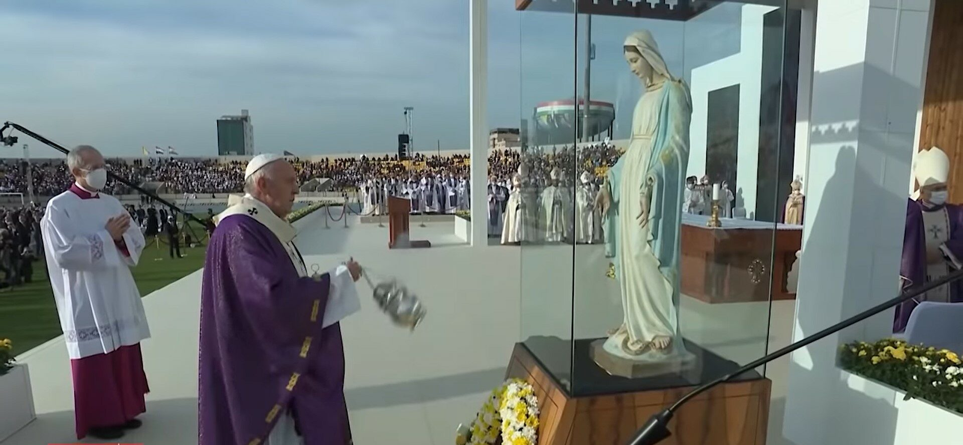 Highlights of Pope Francis's historic journey to Iraq