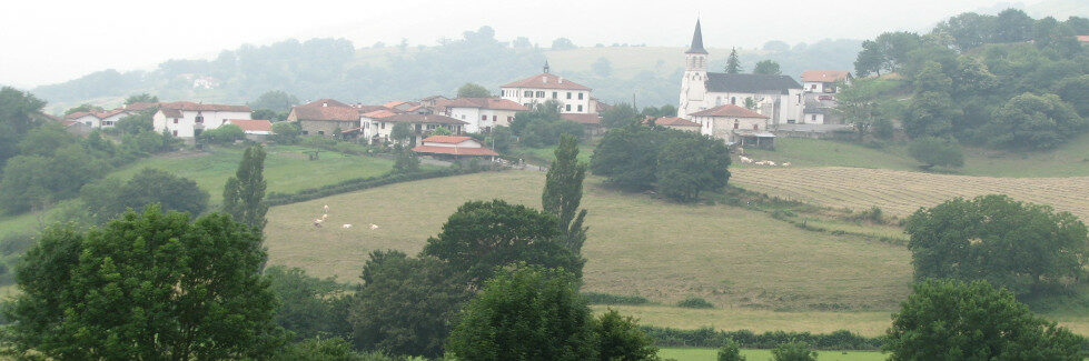 Postcard #3: Ostabat, Catholic Europe's international travel hub