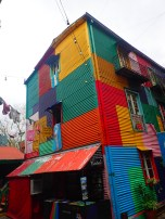 I just love all the colors. Originally the immigrants used paint from the shipyard but this is now more of a living art museum.