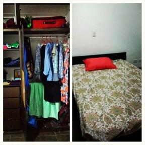 I own sheets! I have a closet!