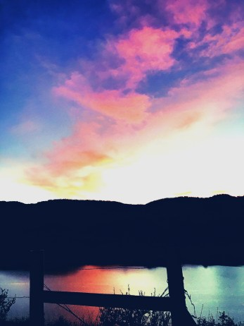 Horsetooth sunsets are one of my favorite FOCO things.